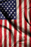 American flag. On the background Royalty Free Stock Photo