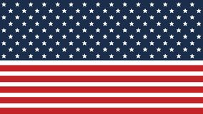American flag background for Independence Day and other events. EPS 10. Vector illustration. Good for presentations. American flag background for Independence vector illustration
