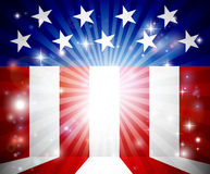 American Flag Background. An American flag, possibly 4th of July, background Royalty Free Stock Photography