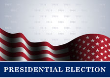 American flag background Presidential Election. American flag, for Presidential Election, vote, 4th July, Independence Day celebration. Patriotic background Royalty Free Stock Photo