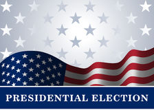 American flag background Presidential Election. American flag, for Presidential Election, vote, 4th July, Independence Day celebration. Patriotic background Royalty Free Stock Photos