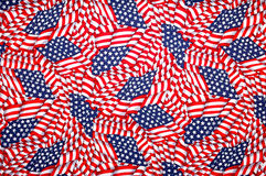 American flag background,stars and stripes Royalty Free Stock Image