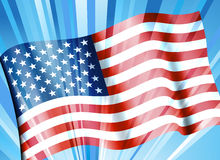 American Flag Background Stock Images