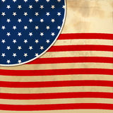American flag background with stars symbolizing 4th july indepen Stock Image