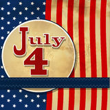 American flag background with stars symbolizing 4th july indepen Stock Photo