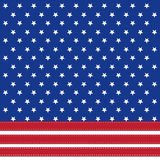 American flag background with stars symbolizing 4th july Royalty Free Stock Image