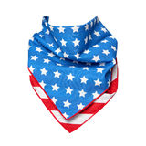 American Flag Bandana Royalty Free Stock Photography