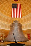 American flag and bell Royalty Free Stock Photo