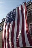 American flag at City Hall in Old Town Alexandria Virginia Royalty Free Stock Images