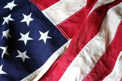 American Flag Close Up 3 Royalty Free Stock Photo