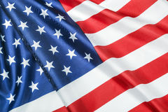 American flag Close-up background Stock Photography