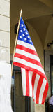 American flag in close up Stock Photography