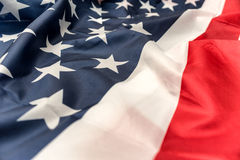 American flag close-up Royalty Free Stock Photo