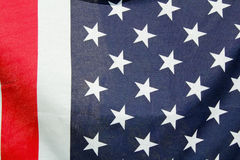 American flag closeup Royalty Free Stock Image