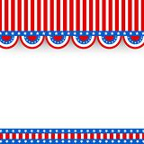 American Flag colors background for 4th of July. American Flag colors background with space for text, 4th of July Independence Day celebration concept Royalty Free Stock Photo