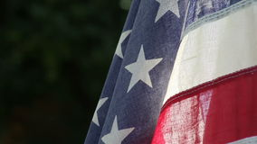 American flag with copy space Stock Image