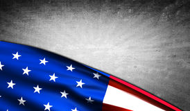 American flag with copyspace Royalty Free Stock Photo