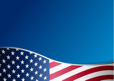 American flag day background Royalty Free Stock Image