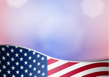 American flag day background Stock Photo