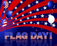 American Flag Day. Stock Images