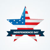 American flag design Royalty Free Stock Image