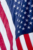 American Flag. Detail of the American flag Royalty Free Stock Image