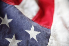 American flag detail Royalty Free Stock Photo
