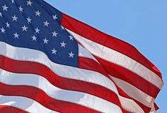 American Flag Detail Stock Image