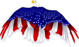 American Flag Eagle Stock Images