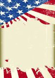 American flag frame Stock Photography