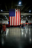 American Flag Holiday Folk Fair Stock Photos