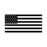 American flag icon. Black icon american flag icon cartoon vector graphic design Stock Photography