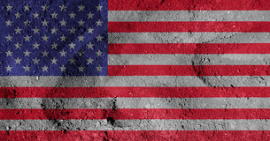 American flag. An illustration of the American Flag Stock Photo