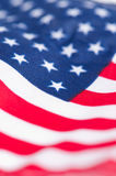 American Flag for Independence Day. Close up American Flag for Independence Day Stock Illustration