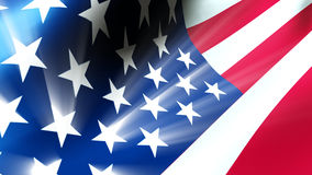 American Flag 0112 Stock Images