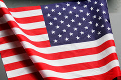 American flag. National flag of the United States of America Stock Photography