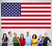 American Flag Nationality Liberty Country Concept Royalty Free Stock Images