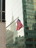 American Flag in New York City Stock Photos
