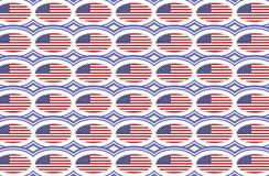 American flag pattern stock illustration