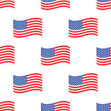 American flag pattern Royalty Free Stock Photos
