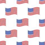American flag pattern Royalty Free Stock Photos