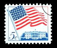 American Flag Postage Stamp Royalty Free Stock Images