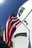 American Flag Proudly Displayed Stock Photography