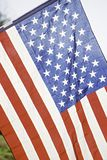 American flag Red white and blue colors Royalty Free Stock Images