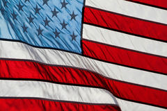 American Flag Red White Blue Stock Photos