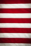 American Flag, red and white stripes background Royalty Free Stock Photo