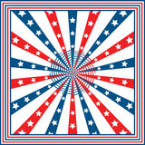 American flag stars and stripes Royalty Free Stock Image