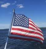 American flag. 4th of July American flag stock images