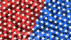 American flag theme background. (rendered Stock Image