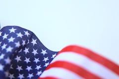 American flag U.S. Flag blowing Royalty Free Stock Image